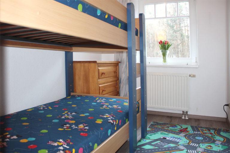 2-Bett Kinderzimmer Ferienwohnung Sonnenburg Kühlungsborn