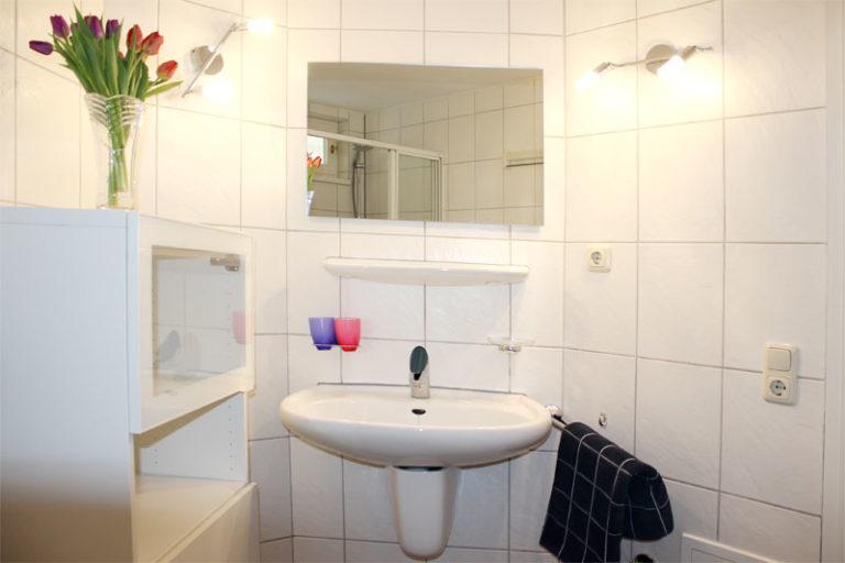 Badzimmer Bild 1 Ferienwohnung Sonnenburg Kühlungsborn