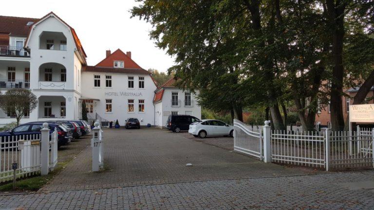 Parkplatz Ferienwohnung Sonnenburg Kühlungsborn